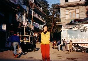 Ms. Sheng Xue in Dharamsala (Photo courtesy of Ms. Sheng Xue)